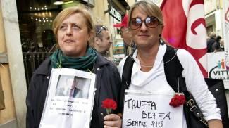 """""""Truffa totale, rimborso parziale"""": risparmiatori, il corteo del primo maggio"""