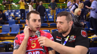Volley, finale scudetto, Perugia ko in gara-1, secco 3-0 / VIDEO