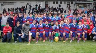 Rugby, l'Under 16 del Rovigo trionfa al Milani