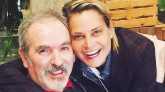 """Simona Ventura, foto con Lamberto Sposini.  """"Il meglio deve ancora venire"""""""