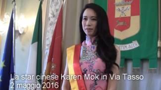 """Karen Mok in Città Alta con Al Bano: nominata """"ambasciatrice della cultura"""" - VIDEO"""