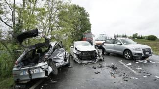 Carambola sulla via Emilia: sette feriti