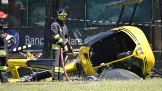 Elicottero precipitato allo Sporting. A processo l'imprenditore-pilota