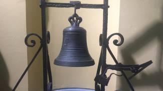 Restaurata 'campana del Manzoni', era abbandonata in Questura di Milano
