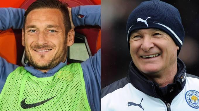Segna e trascina: Totti core de Roma. Ranieri campione col Leicester / VIDEO