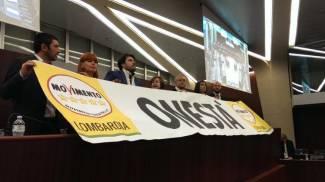 """Regione Lombardia, Mantovani torna in aula: """"Non fuggo"""". Protesta M5S /FOTO"""