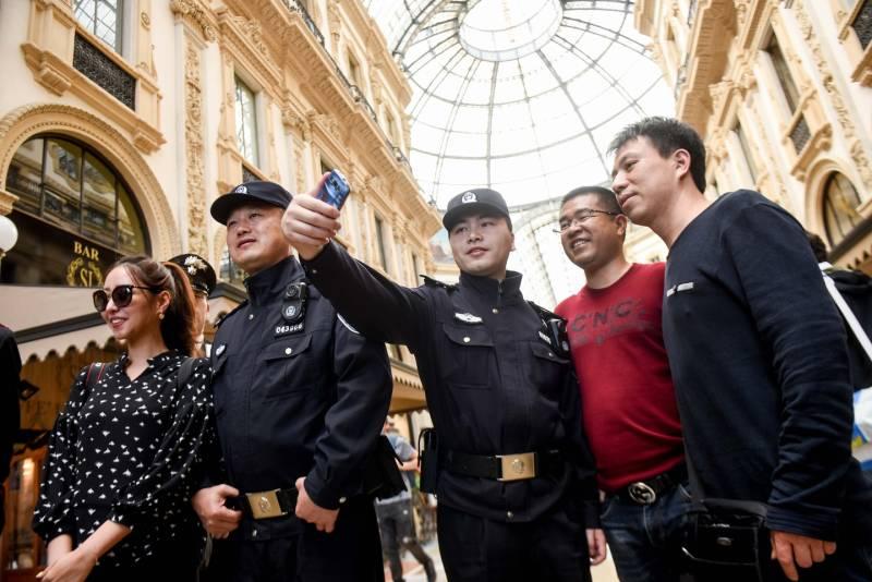 Agenti cinesi a Milano, al via la sperimentazione con Polizia e Carabinieri