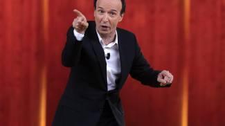 """Benigni: """"Al referendum sulle riforme penso di votare No"""". Pisa, gag e discorsi seri"""