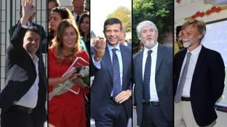 Renzi, Boschi, Lupi, Poletti, Delrio: i ministri tornano tra i banchi
