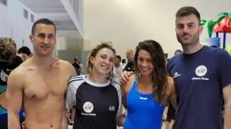 La Chimera Nuoto sigla un record italiano con la squadra Master
