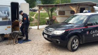 Furti, maxi perquisizione dei carabinieri in campi rom e sei denunce
