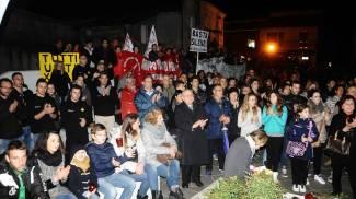 Omicidio Branchi, Goro torna in piazza: «Per dissociarci da criminali e omertosi»