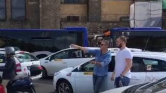 Traffico, odissea a Santa Maria Novella, tutti con i motori spenti
