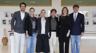 Il ministro Maria Elena Boschi visita l'azienda di Cucinelli