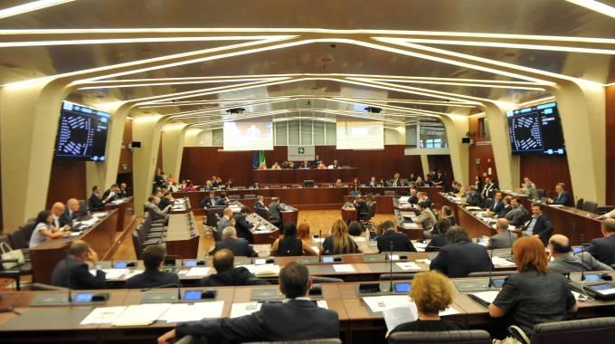 Aula Consiglio regionale Lombardia