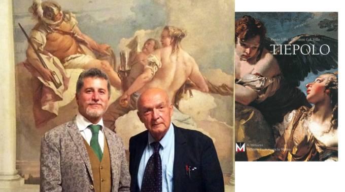 Giovanni Carlo Federico Villa, Antonio Paolucci e il frontespizio del volume Tiepolo