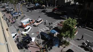 Incidente nel viale Matteotti con una vittima: tre indagati