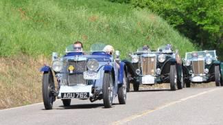 Le meravigliose MG a spasso per il Ducato di Urbino