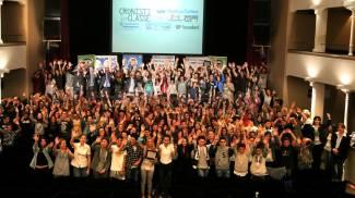 Campionato di giornalismo, le foto della festa con le scuole
