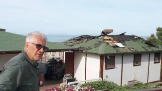 Incendio distrugge lo stabilimento balneare Baia Mia a Follonica