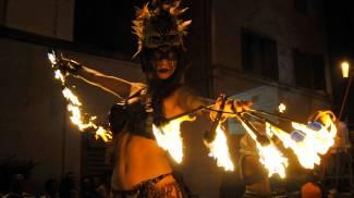 Il Circo Nero protagonista alla Notte Bianca