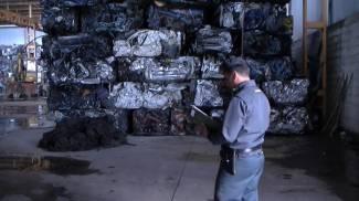 Bosaro, sequestrate 4000 tonnellate di rifiuti ferrosi