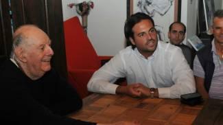 Cesenatico, Dario Fo sostiene il candidato sindaco grillino Papperini