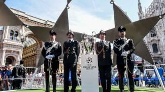 Champions Village, inaugurazione in piazza Duomo