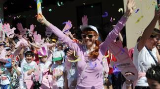 Rosa Magenta: grande festa per il Giro d'Italia