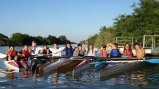 In canoa alla scoperta del Canalbianco