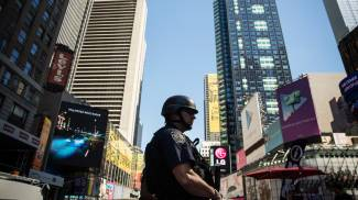 New York, Times Square (Afp)