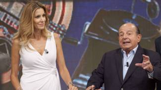 Adriana Volpe e Giancarlo Magalli, lite in casa de 'I Fatti Vostri'