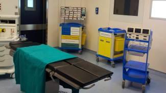 Nuove sale parto tutte operative, ecco anche i primi cesarei