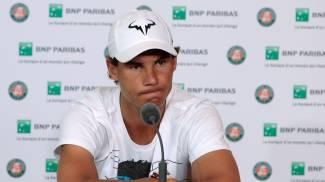 Roland Garros, clamoroso si ritira Rafa Nadal