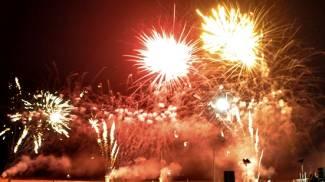 Fuochi d'artificio a Riccione, lo spettacolo di Fireworks Festival / FOTO
