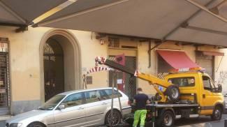 Lavaggio strade, il Comune passa ai cartelli fissi