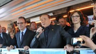 """Berlusconi chiude la campagna di Forza Italia: """"Parisi miglior candidato"""""""