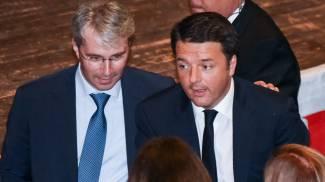 Matteo Renzi a Varese: la protesta dei militanti della Lega