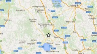 Terremoto in Umbria, epicentro a Castel Giorgio. Magnitudo 4,1