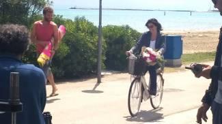 Vanessa Incontrada e la fiction 'Scomparsa' a San Benedetto del Tronto: guarda le foto