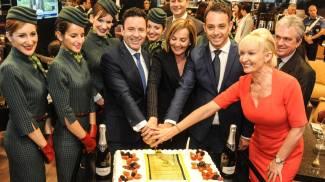 Malpensa, stile ed eleganza griffati Alitalia: in brughiera il decollo è di lusso