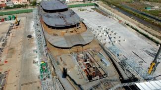 Etruria, il cantiere del mega-yacht non aveva accesso diretto al mare
