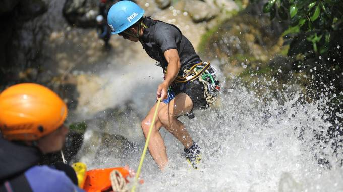 Donna muore dopo incidente di canyoning""