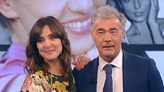 Ambra Angiolini si consola tra le braccia di Massimo Giletti, il gossip corre sul web