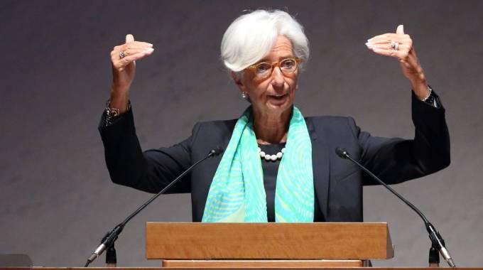 Christine Lagarde, direttore del Fondo Monetario Internazionale (Olycom)