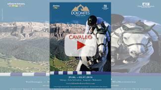Lo streaming del Dolomites Horse Show 2016