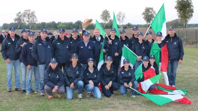La Nazionale Italiana Youth di Attacchi a Schildau, foto Valeria Nicoli