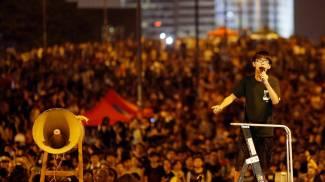 Joshua Wong, il 17enne capo del movimento studentesco a Hong Kong (Reuters)