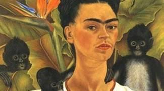 Frida Kahlo, autoritratto con scimmie ©