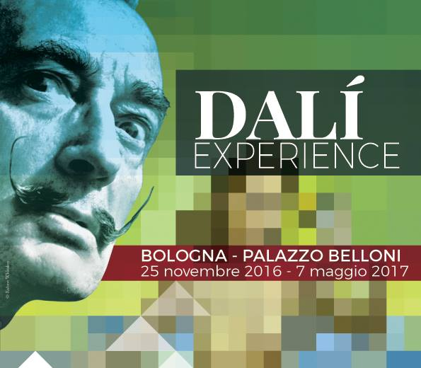 Salvador Dalí arriva a Bologna